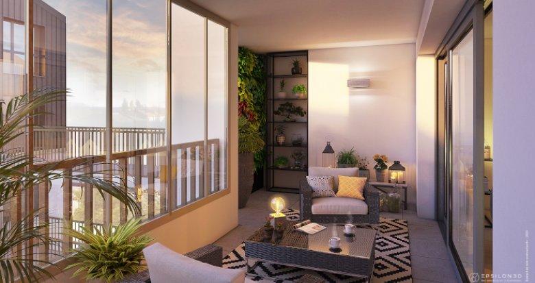 Achat / Vente programme immobilier neuf Nantes quartier Hauts Pavés (44000) - Réf. 5826