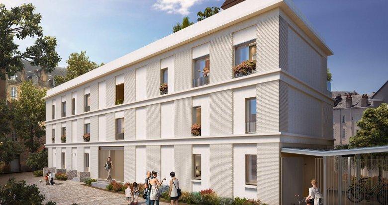 Achat / Vente programme immobilier neuf Nantes quartier Lamoricière Canclaux (44000) - Réf. 6230