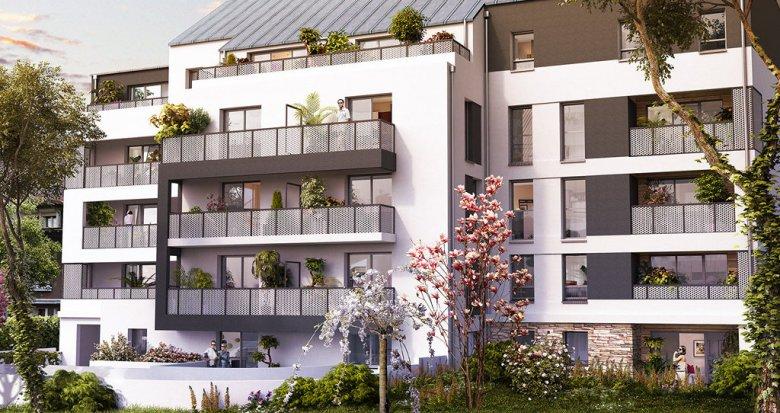 Achat / Vente programme immobilier neuf Nantes quartier Malakoff – Saint-Donatien (44000) - Réf. 720