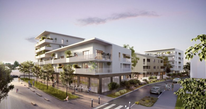 Achat / Vente programme immobilier neuf Nantes quartier Pont du Cens (44000) - Réf. 5264