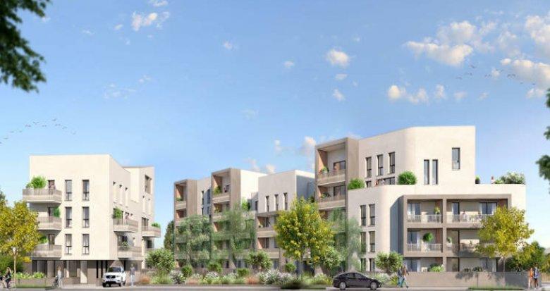 Achat / Vente programme immobilier neuf Nantes quartier Pont du Cens (44000) - Réf. 5691