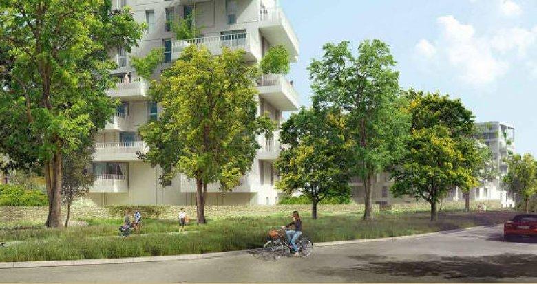 Achat / Vente programme immobilier neuf Nantes quartier Pont du Cens (44000) - Réf. 3321