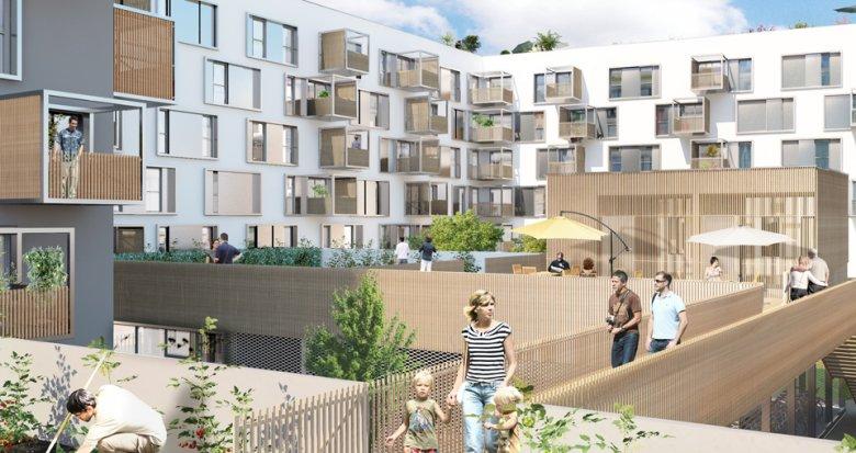 Achat / Vente programme immobilier neuf Nantes quartier Prairie-au-duc (44000) - Réf. 866