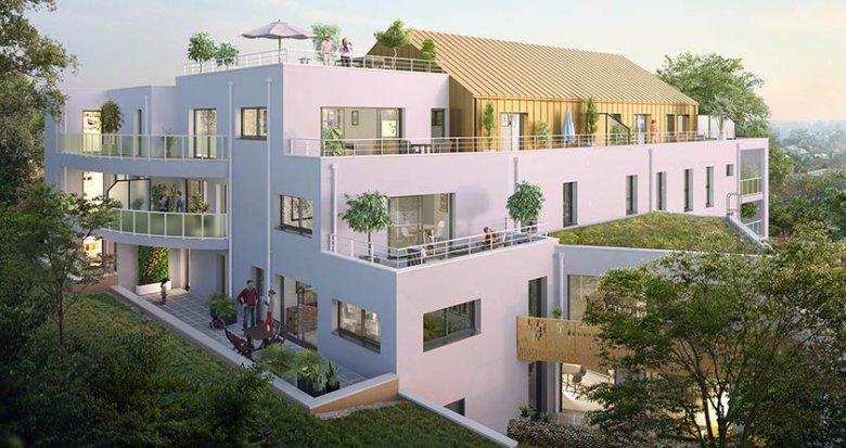 Achat / Vente programme immobilier neuf Nantes quartier résidentiel calme (44000) - Réf. 729