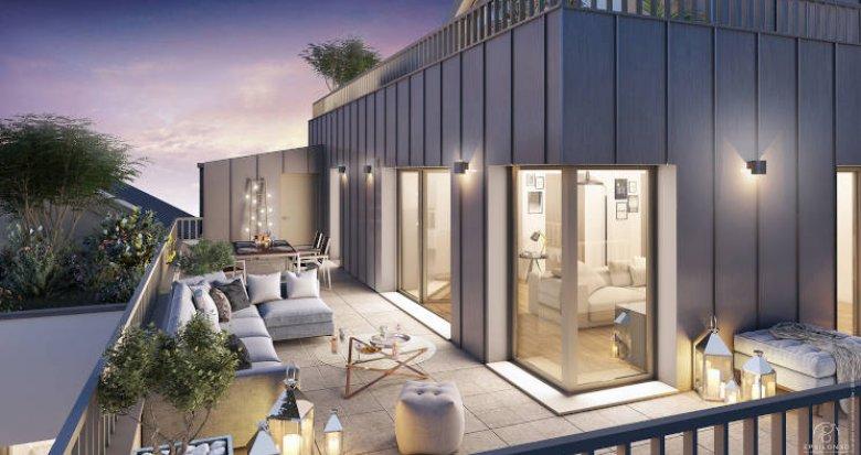 Achat / Vente programme immobilier neuf Nantes quartier résidentiel des Hauts-Pavés (44000) - Réf. 4197