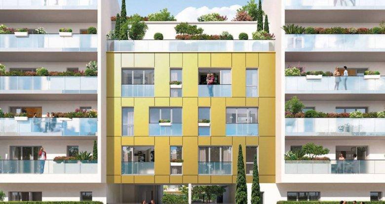 Achat / Vente programme immobilier neuf Nantes quartier Romanet à deux pas du tram (44000) - Réf. 6166