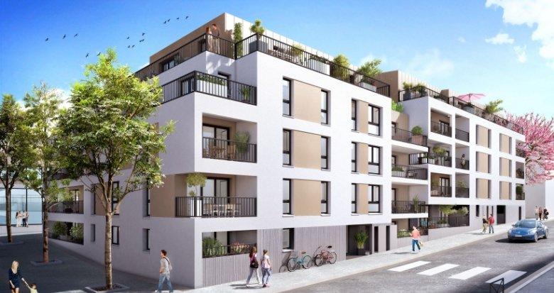 Achat / Vente programme immobilier neuf Nantes Quartier Saint-Félix (44000) - Réf. 2209