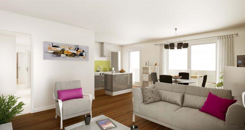 Achat / Vente programme immobilier neuf Nantes quartier Saint Jacques (44000) - Réf. 278