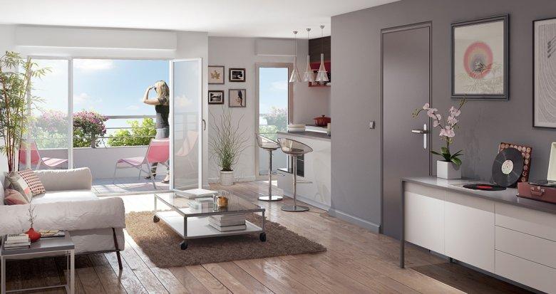 Achat / Vente programme immobilier neuf Nantes quartier Saint-Jacques (44000) - Réf. 953