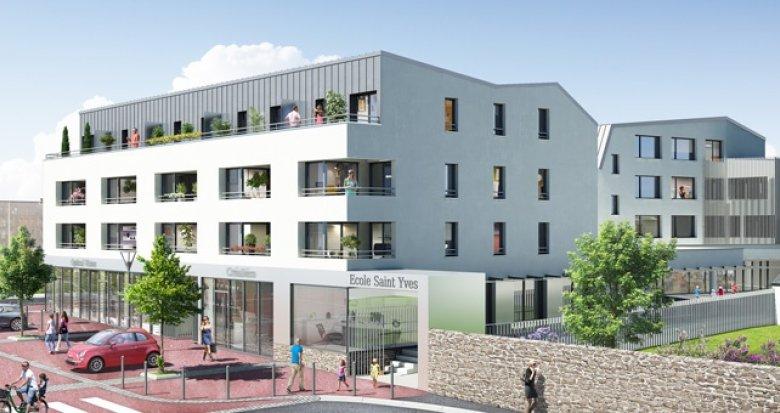 Achat / Vente programme immobilier neuf Nantes quartier Saint-Joseph de Porterie (44000) - Réf. 1166