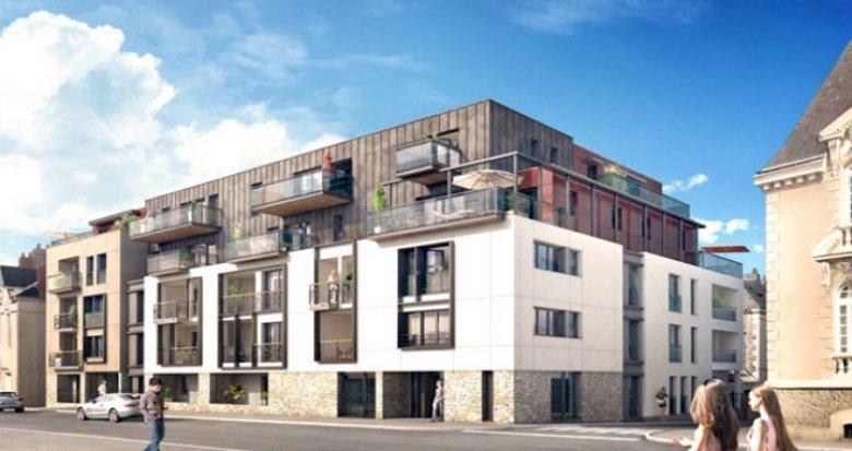 Achat / Vente programme immobilier neuf Nantes quartier Saint-Pasquier (44000) - Réf. 739