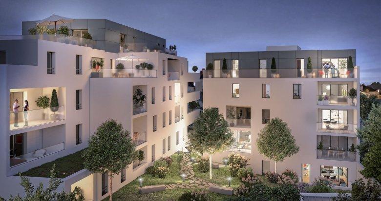 Achat / Vente programme immobilier neuf Nantes quartier Tortière (44000) - Réf. 3527
