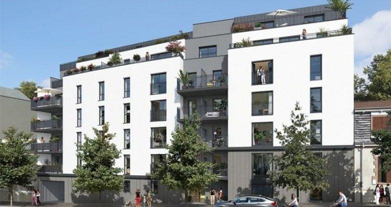 Achat / Vente programme immobilier neuf Nantes quartier Zola (44000) - Réf. 1188