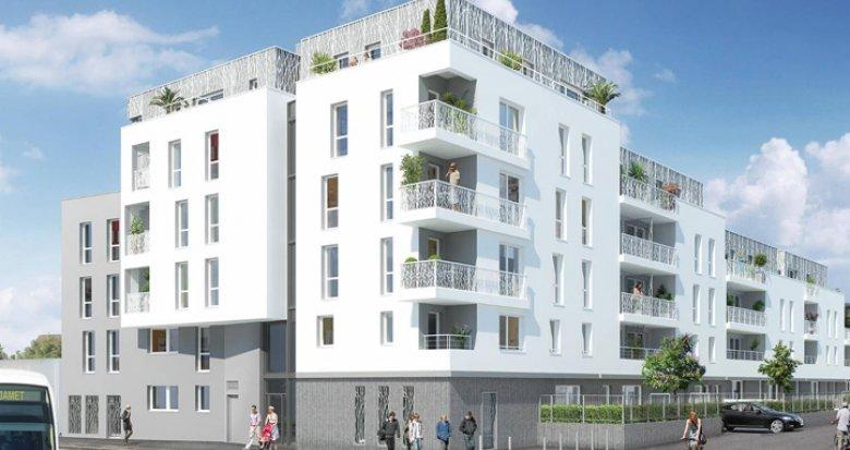 Achat / Vente programme immobilier neuf Nantes quartier Zola-Croix Bonneau – TVA réduite (44000) - Réf. 1051