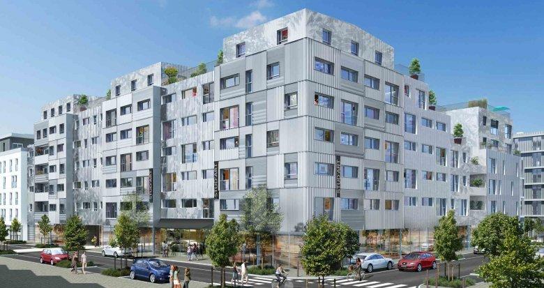 Achat / Vente programme immobilier neuf Nantes résidence étudiante quartier de la Création (44000) - Réf. 1356