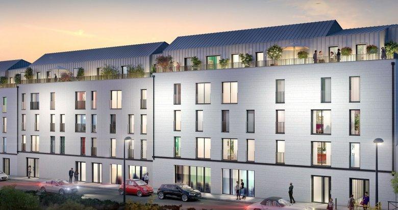 Achat / Vente programme immobilier neuf Nantes Saint-Clément (44000) - Réf. 4647