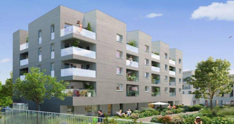 Achat / Vente programme immobilier neuf Nantes secteur Beaujoire proche commodités (44000) - Réf. 4718