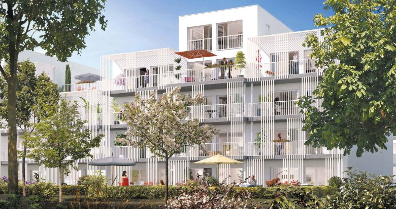 Achat / Vente programme immobilier neuf Nantes secteur La Beaujoire (44000) - Réf. 1986
