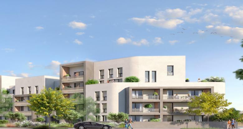 Achat / Vente programme immobilier neuf Nantes secteur Pont du Cens (44000) - Réf. 5396