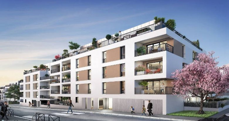 Achat / Vente programme immobilier neuf Nantes secteur Saint-Félix (44000) - Réf. 3808