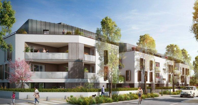 Achat / Vente programme immobilier neuf Nantes Vieux Doulon proche du parc du Grand Blottereau (44000) - Réf. 3325