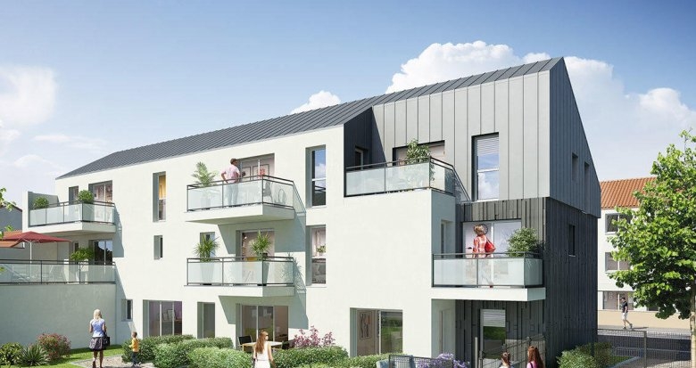 Achat / Vente programme immobilier neuf NAONEST (44000) - Réf. 2325