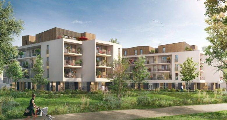 Achat / Vente programme immobilier neuf Nort-Sur-Erdre quartier Faubourg Saint-Georges (44390) - Réf. 3052