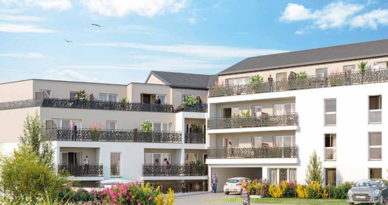 Achat / Vente programme immobilier neuf Orvault quartier Petit Chantilly (44700) - Réf. 5406