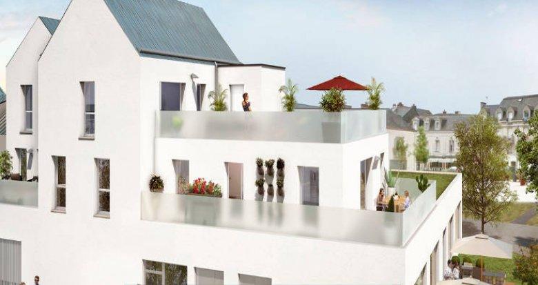 Achat / Vente programme immobilier neuf Pontchâteau ilot des centrais (44160) - Réf. 5300