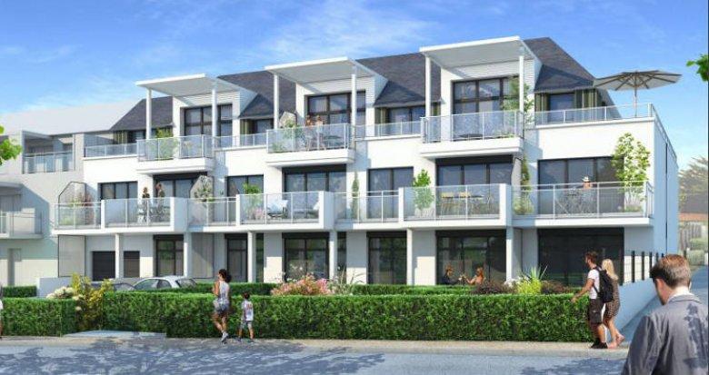 Achat / Vente programme immobilier neuf Pornichet à a 50m de la plage Sainte-Marguerite (44380) - Réf. 5654