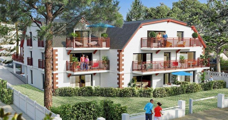 Achat / Vente programme immobilier neuf Pornichet proche front de mer (44380) - Réf. 210