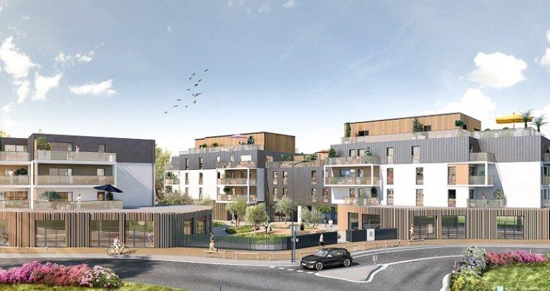 Achat / Vente programme immobilier neuf Pornichet proche marché (44380) - Réf. 4924