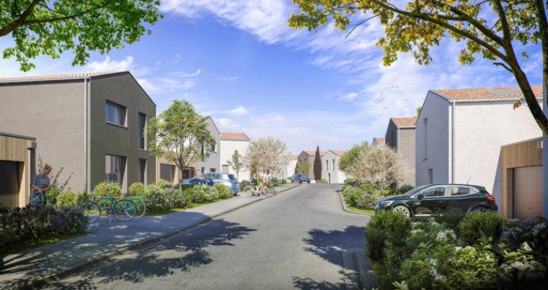 Achat / Vente programme immobilier neuf Pornichet proche plage et vieille ville (44380) - Réf. 6012