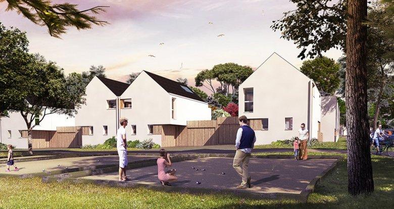 Achat / Vente programme immobilier neuf Pornichet quartier Sainte-Marguerite (44380) - Réf. 1555