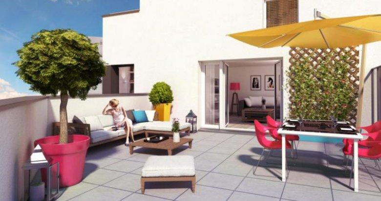 Achat / Vente programme immobilier neuf Rezé quartier Pont-Rousseau (44400) - Réf. 774