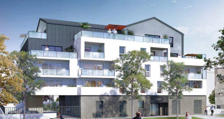 Achat / Vente programme immobilier neuf Saint-Herblain à deux pas du tramway (44800) - Réf. 4272
