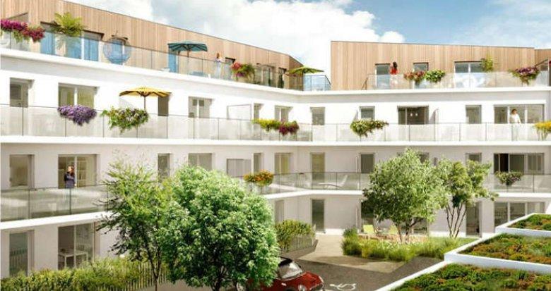 Achat / Vente programme immobilier neuf Saint-Herblain centre historique (44800) - Réf. 906