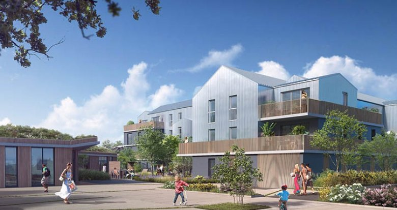 Achat / Vente programme immobilier neuf Saint-Herblain écoquartier de Bagatelle (44800) - Réf. 1447