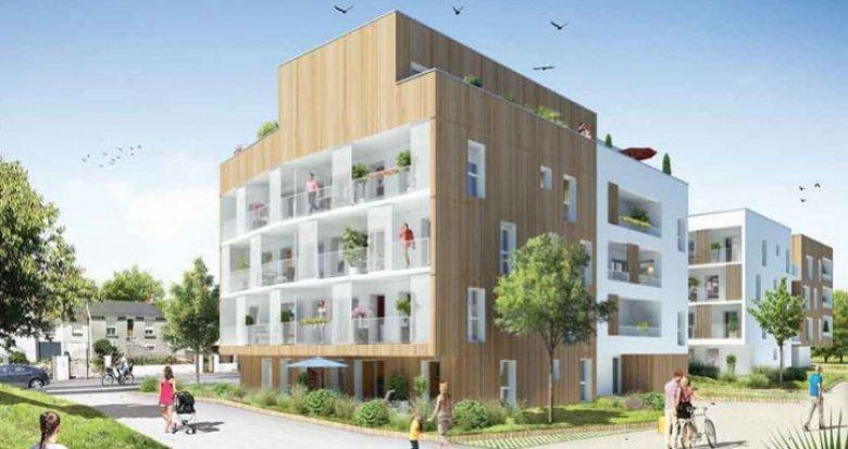 Achat / Vente programme immobilier neuf Saint-Herblain face au Parc de la Bourgonnière (44800) - Réf. 1094