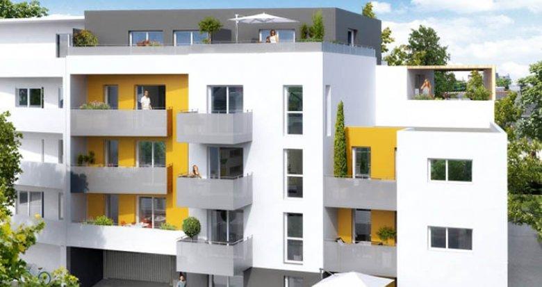 Achat / Vente programme immobilier neuf Saint-Herblain face parc de la Bourgonnière (44800) - Réf. 1170