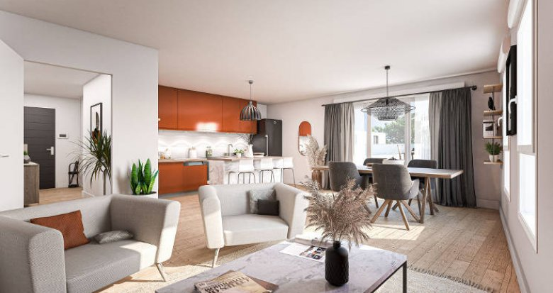 Achat / Vente programme immobilier neuf Saint-Herblain proche bus 81 (44800) - Réf. 5824