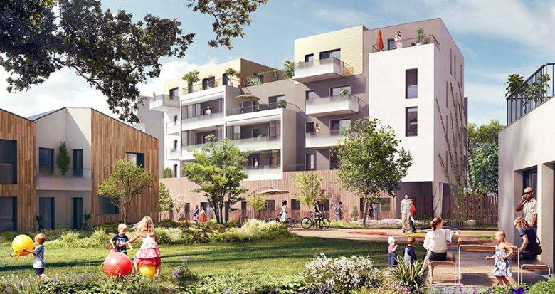 Achat / Vente programme immobilier neuf Saint-Herblain proche des commerces (44800) - Réf. 1722