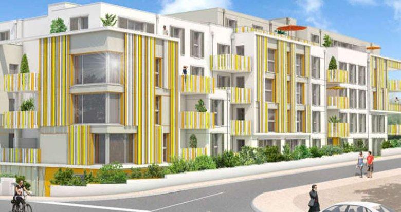 Achat / Vente programme immobilier neuf Saint-Herblain proche Parc de la Begraisière (44800) - Réf. 1541