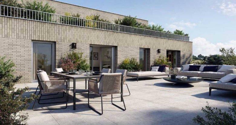 Achat / Vente programme immobilier neuf Saint-Herblain proche tram Neruda (44800) - Réf. 6024