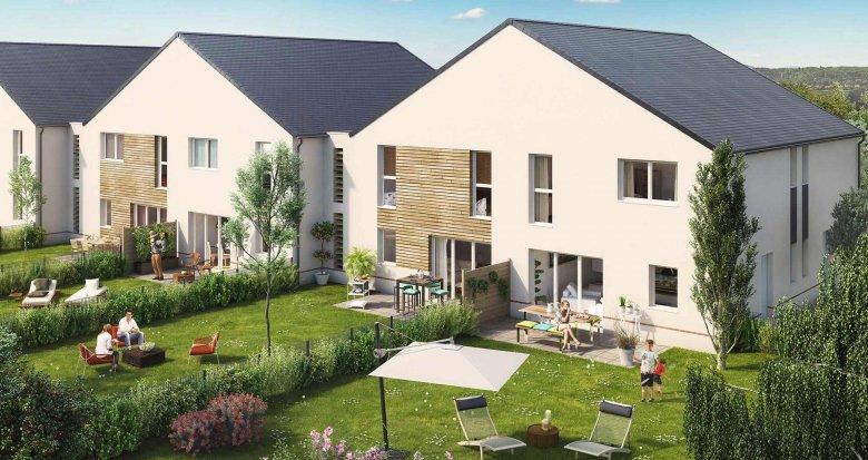 Achat / Vente programme immobilier neuf Saint-Herblain quartier du Bourg (44800) - Réf. 513