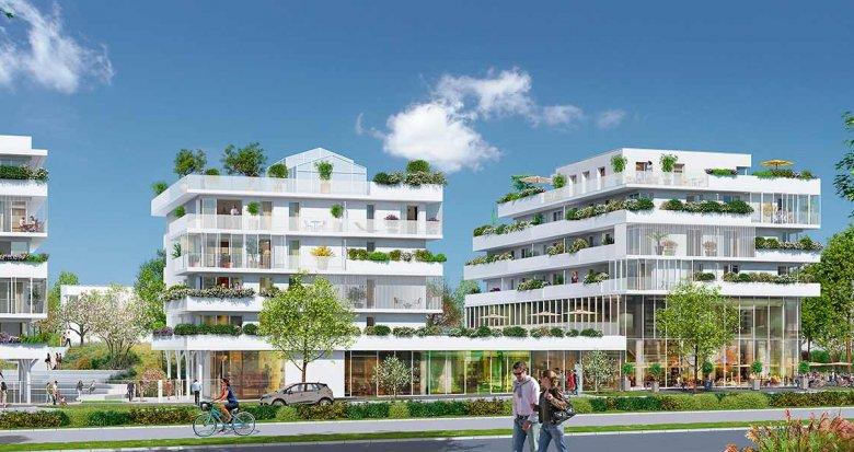 Achat / Vente programme immobilier neuf Saint-Herblain Quartier Polyclinique (44800) - Réf. 2201