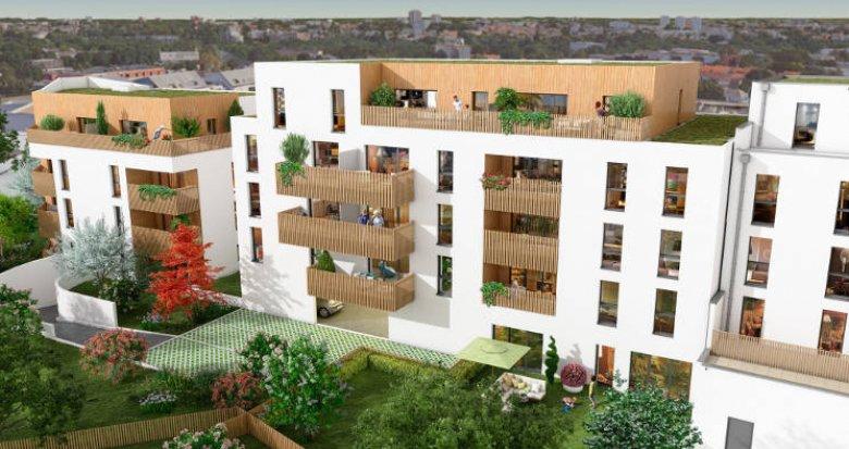 Achat / Vente programme immobilier neuf Saint-Herblain secteur polyclinique (44800) - Réf. 5928