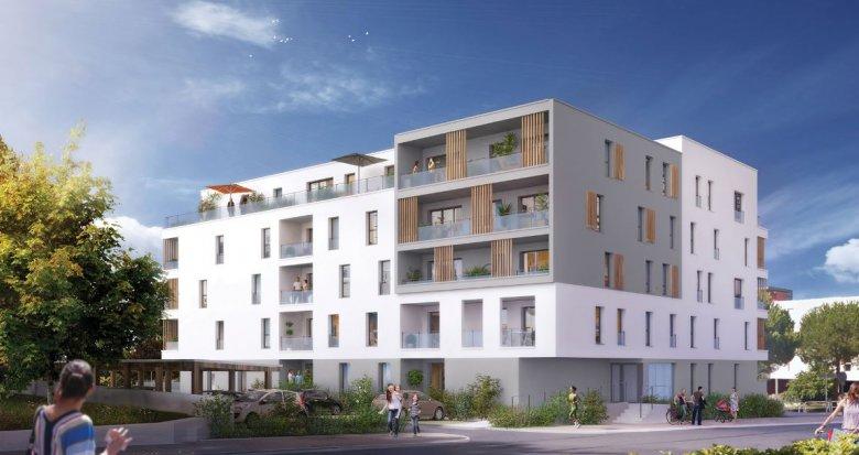 Achat / Vente programme immobilier neuf Saint-Nazaire à 600 mètres de la plage Porcé (44600) - Réf. 2832