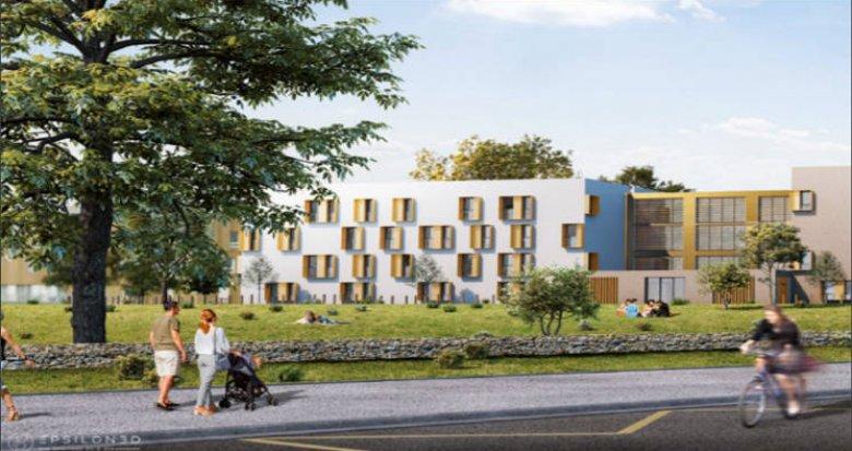Achat / Vente programme immobilier neuf Saint-Nazaire au coeur du campus Heinlex (44600) - Réf. 5157
