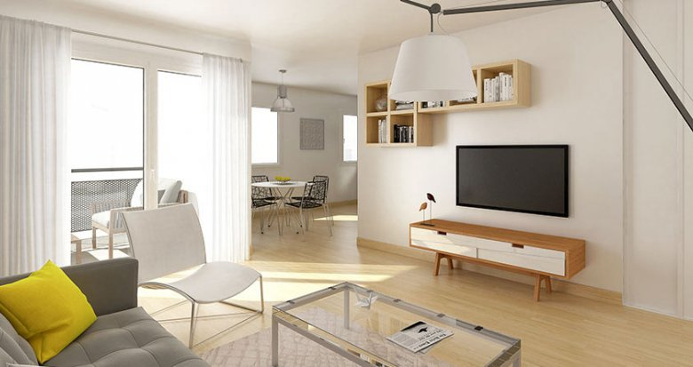 Achat / Vente programme immobilier neuf Saint-Nazaire au coeur du centre (44600) - Réf. 1723